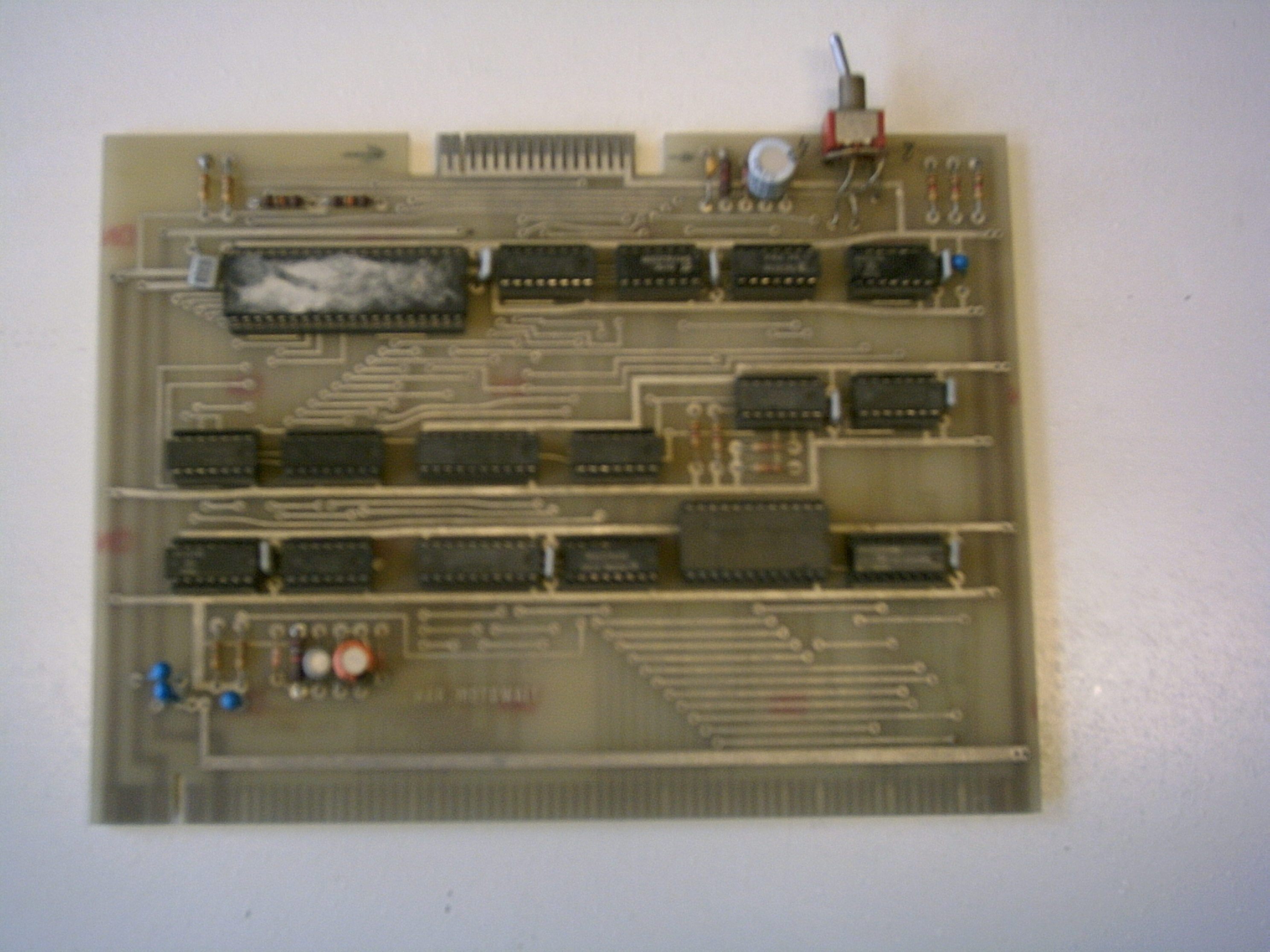 The Nascom Home Page Puter Motherboard Circuit Diagram Together With Bending Moment A Picture Of Floppydisk